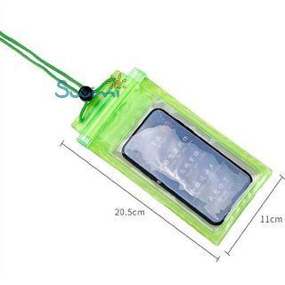 Герметичный непромокаемый чехол для телефона , цвет - жёлтый, ПВХ, рис. 3 - Swimi - интернет магазин