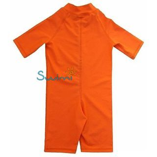 УФ-защитный детский гидрокостюм IQ-UV Shorty Jolly Fish, рост - 92-98 см, возраст - 2-3 года, оранжевый, рис. 2 - Swimi - интернет магазин