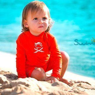 УФ-защитный детский гидрокостюм IQ-UV Shorty Jolly Fish, рост - 104-110 см, возраст - 4-5 лет, оранжевый, рис. 3 - Swimi - интернет магазин