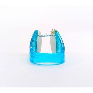 Ласты детские грудничковые Propercarry Baby Super Elastic, размер - 21-22, цвет - зелёный, 100% натуральный каучук + Клписа зажим для носа, рис. 7 - Swimi - интернет магазин