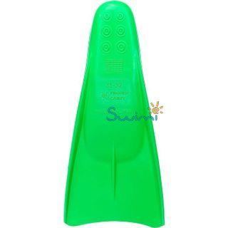 Ласты детские укороченные тренировочные Propercarry Junior, размер - 35-36, цвет - зелёный, 100% натуральный каучук, рис. 2 - Swimi - интернет магазин