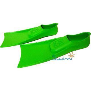 Ласты детские для бассейна Propercarry Elastic, размер - 27-28, цвет - зелёный, 100% натуральный каучук, рис. 5 - Swimi - интернет магазин