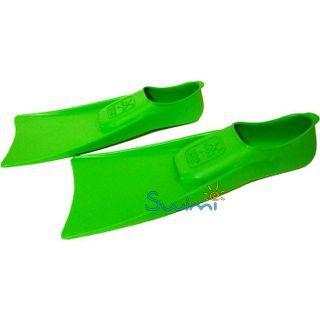 Ласты детские для бассейна Propercarry Super Elastic, размер - 25-26, цвет - зелёный, 100% натуральный каучук, рис. 5 - Swimi - интернет магазин