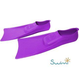 Ласты детские для бассейна Propercarry Super Elastic, размер - 25-26, цвет - фиолетовый, 100% натуральный каучук + Клписа зажим для носа, рис. 6 - Swimi - интернет магазин
