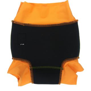 Детский многоразовый подгузник Propercarry неопреновый, 1-1,5 года, размер - L, 74-80 см, вес ребенка - от 10 до 12 кг, принт - Роботы на зеленом - артикул: SN1903-002L + Ласты детские грудничковые Propercarry, рис. 5 - Swimi - интернет магазин