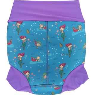 Низ гидрокостюма детский неопреновый Propercarry с нейлоновым покрытием, 2-3 года, размер - SL, 98 см, вес ребенка - от 14 до 16 кг, принт - Русалки на голубом - артикул: SN1903-001SL, рис. 2 - Swimi - интернет магазин