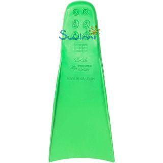 Ласты детские грудничковые Propercarry Baby Super Elastic, размер - 21-22, цвет - зелёный, 100% натуральный каучук + Клписа зажим для носа, рис. 4 - Swimi - интернет магазин