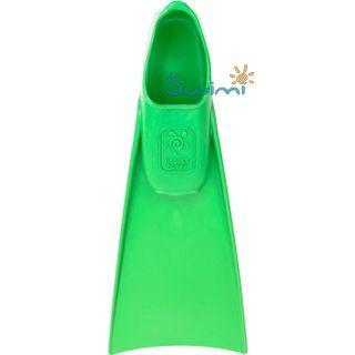 Ласты детские грудничковые Propercarry Super Elastic, размер - 23-24, цвет - зелёный, 100% натуральный каучук + Плавательные очки для малыша Propercarry, рис. 3 - Swimi - интернет магазин