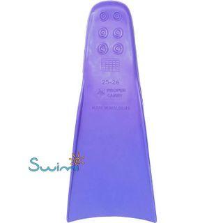 Ласты детские грудничковые Propercarry Baby Super Elastic, размер - 21-22, цвет - фиолетовый, 100% натуральный каучук, рис. 3 - Swimi - интернет магазин
