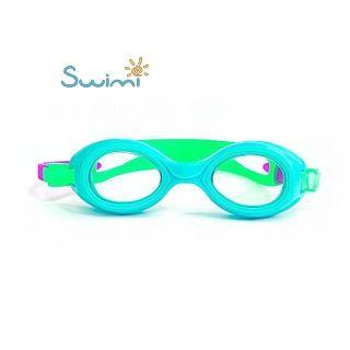 Ласты детские грудничковые Propercarry Super Elastic, размер - 23-24, цвет - зелёный, 100% натуральный каучук + Плавательные очки для малыша Propercarry, рис. 9 - Swimi - интернет магазин