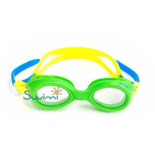 Ласты детские для бассейна Propercarry Super Elastic, размер - 25-26, цвет - красный, 100% натуральный каучук + Плавательные очки для малыша Propercarry, рис. 8 - Swimi - интернет магазин