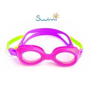 Ласты детские для бассейна Propercarry Super Elastic, размер - 25-26, цвет - фиолетовый, 100% натуральный каучук + Плавательные очки для малыша Propercarry, рис. 8 - Swimi - интернет магазин