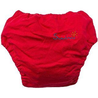Ласты детские грудничковые Propercarry Super Elastic, размер - 23-24, цвет - красный  + Многоразовые трусики-подгузники ЧудоТрусики КРАСНЫЕ + Клписа зажим для носа, рис. 8 - Swimi - интернет магазин