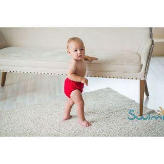 Ласты детские грудничковые Propercarry Super Elastic, размер - 23-24, цвет - красный  + Многоразовые трусики-подгузники ЧудоТрусики КРАСНЫЕ + Клписа зажим для носа, рис. 9 - Swimi - интернет магазин