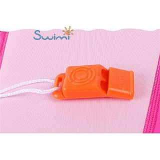 Детский жилет спасательный Manner для плавания, 1-2 года, цвет - голубой (небесный), неопрен, рис. 2 - Swimi - интернет магазин