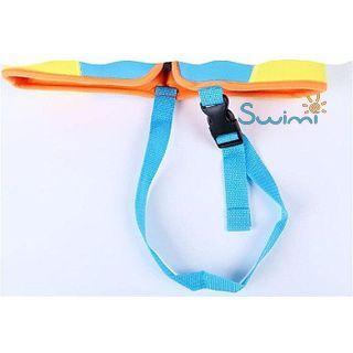 Детский жилет спасательный Manner для плавания, 1-2 года, цвет - голубой (небесный), неопрен, рис. 3 - Swimi - интернет магазин