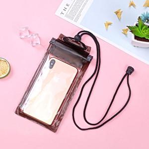 Герметичный непромокаемый чехол для телефона , цвет - чёрный, ПВХ, рис. 1 - Swimi - интернет магазин
