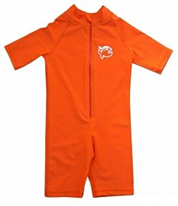 УФ-защитный детский гидрокостюм IQ-UV Shorty Jolly Fish, рост - 92-98 см, возраст - 2-3 года, оранжевый, рис. 1 - Swimi - интернет магазин