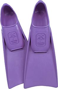 Ласты детские для бассейна Propercarry Super Elastic, размер - 25-26, цвет - фиолетовый, 100% натуральный каучук + Клписа зажим для носа, рис. 1 - Swimi - интернет магазин