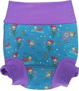 Низ гидрокостюма детский неопреновый Propercarry с нейлоновым покрытием, 1,5 - 2 года, размер - XL, 86-92 см, вес ребенка - от 12 до 14 кг, принт - Русалки на голубом - артикул: SN1903-001XL, рис. 1 - Swimi - интернет магазин
