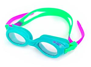 Ласты детские грудничковые Propercarry Super Elastic, размер - 23-24, цвет - зелёный, 100% натуральный каучук + Плавательные очки для малыша Propercarry, рис. 2 - Swimi - интернет магазин