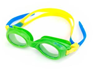 Ласты детские для бассейна Propercarry Super Elastic, размер - 25-26, цвет - красный, 100% натуральный каучук + Плавательные очки для малыша Propercarry, рис. 2 - Swimi - интернет магазин