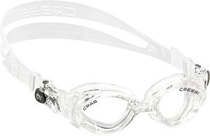 Ласты детские грудничковые Propercarry Super Elastic, размер - 23-24, цвет - фиолетовый, 100% натуральный каучук (2шт.) + Детские очки для плавания Cressi Crab прозрачные, рис. 2 - Swimi - интернет магазин