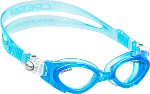 В бассейн - детские ласты Propercarry Super Elastic, 100% мягкий каучук, закрытая пятка, 25-26, зелёные и детские очки для плавания Cressi Crab голубые, рис. 2 - Swimi - интернет магазин
