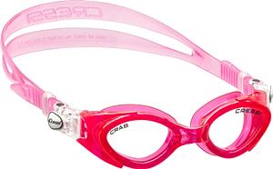 Ласты детские грудничковые Propercarry Super Elastic, размер - 23-24, цвет - фиолетовый, 100% натуральный каучук + Детские очки для плавания Cressi розовые, рис. 2 - Swimi - интернет магазин