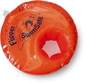 Детские нарукавники для плавания SwimSafe несдуваемые с наполнителем + Фиолетовые детские ласты Proper Сarry из натуральной резины (каучук) с закрытой пяткой, рис. 1 - Swimi - интернет магазин